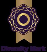 Diversity mark logo